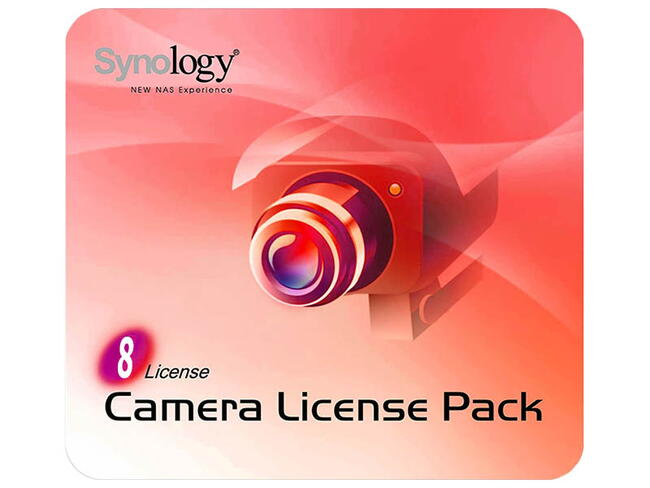 Synology Camera License Pack 8 licens