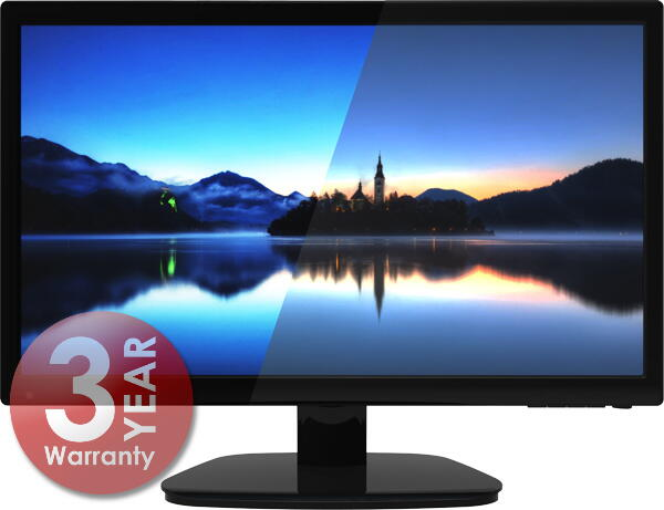 "Hikvision DS-D5022QE-B Monitor 21.5"" 1080P"