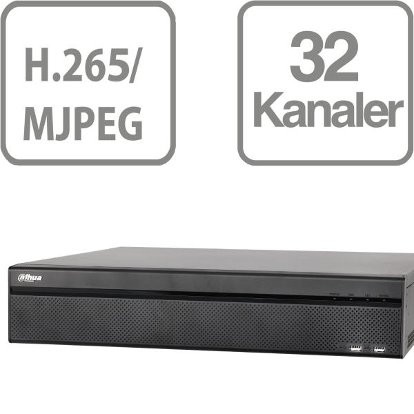 Dahua NVR608-32-4KS2 4K 32 Channel NVR