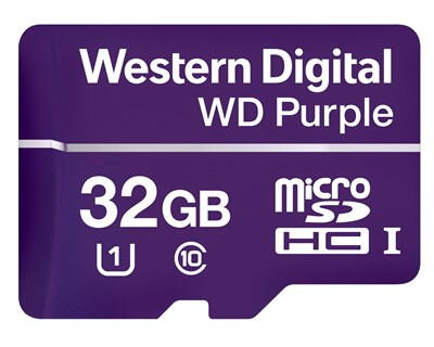 WD Purple Micro SD-Card 32GB