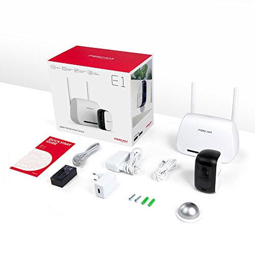Foscam E1 Kit 2MP 4xKamera + 1xBasestation