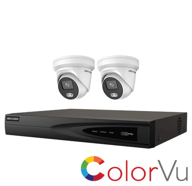 Hikvision 4MP Kit PoE 2347 KL 2.4.4