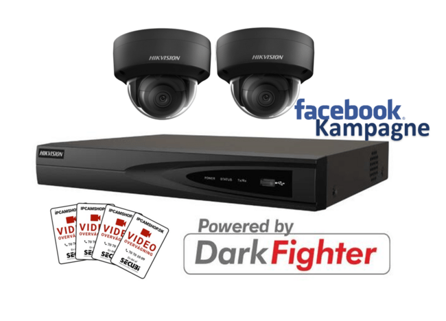 Hikvision 4MP Kit PoE 2145 K 2.4.4  BLACK - FACEBOOK