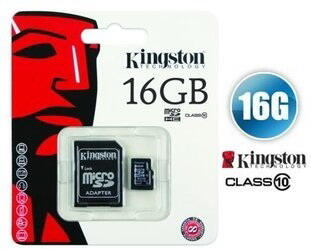 Kingston Micro SD-Card 16GB