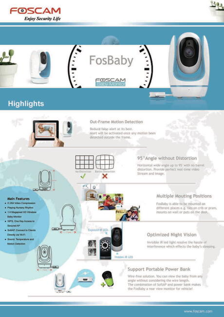 Fosbaby HD Blue