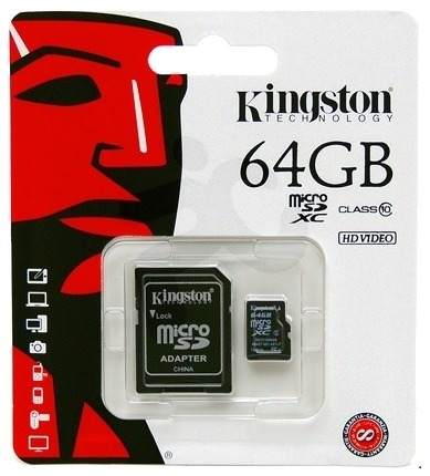 Kingston Micro SD-Card 64GB