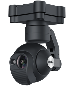 Yuneec CGO-ET - Thermal camera with dual camera.