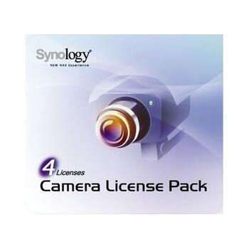 Synology Camera License Pack 4 licens