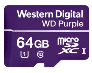 WD Purple Micro SD-Card 64GB