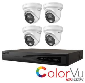 Hikvision 4MP Kit PoE 2347 KU 4.4.4
