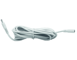 Hikvision 12V Power Extension Cable 3m WHITE