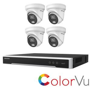 Hikvision 4MP Kit PoE 2347 KL 4.4.8